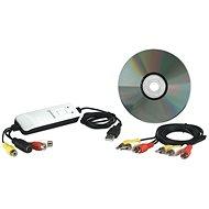 Manhattan USB Audio/Video Grabber - Külső rögzítőeszköz