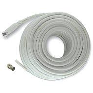 Mascom koaxiális kábel 7676-080W, F csatlakozó 8m - Koax kábel