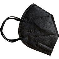 Fekete FFP2 szájmaszk - 5 db - Pormaszk