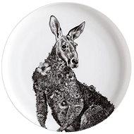 Maxwell & Williams tányér 20 cm MARINI FERLAZZO, Vörös kenguru - Tányér