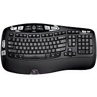 Logitech Wireless Keyboard K350 DE - Billentyűzet