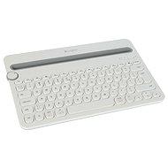Logitech Bluetooth Multi-Device K480 US fehér - Billentyűzet