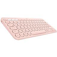 Logitech Bluetooth Multi-Device Keyboard K380, piros - Billentyűzet