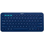 Logitech Bluetooth Multi-Device Keyboard K380 Blue - Billentyűzet