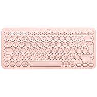 Logitech Bluetooth Multi-Device Keyboard K380 Mac-hez, rózsaszín - UK - Billentyűzet