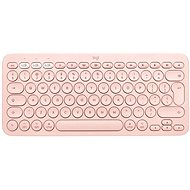 Logitech Bluetooth Multi-Device Keyboard K380 Mac-hez, rózsaszín - US INTL - Billentyűzet