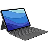 """Logitech Combo Touch for iPad Pro 11 """"(1., 2. és 3. generáció), szürke - US INTL - Billentyűzet"""