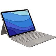 """Logitech Combo Touch iPad Pro 11 """"(1., 2. és 3. generáció), homok - Egyesült Királyság - Billentyűzet"""