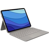 """Logitech Combo Touch iPad Pro 11 """"(1., 2. és 3. generáció), homok - US INTL - Billentyűzet"""