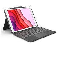 Logitech Combo Touch iPad tablethez (7. és 8. gen.) - UK - Billentyűzet
