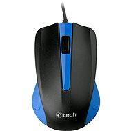 C-TECH WM-01B kék - Egér