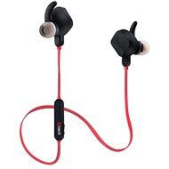 C-TECH SHS-04 fekete-piros - Mikrofonos fej-/fülhallgató