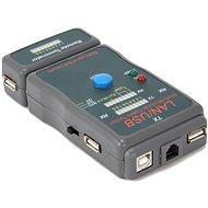 Gembird NCT-2 Ethernet kábel tesztelő UTP, STP és USB kábelek számára - Teszter