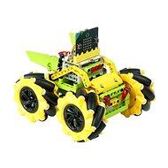 Mecanum bugina 360°-os mozgással - sárga (mikro:bit nélkül) - Programozható építőjáték