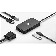 Microsoft USB-C Travel Hub - Port replikátor