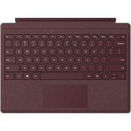 Microsoft Surface Pro Type Cover, burgundi vörös - Billentyűzet