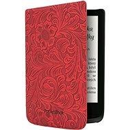 PocketBook HPUC-632-R-F Red Flowers - E-book olvasó tok