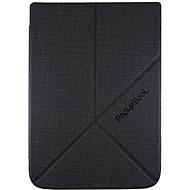PocketBook HN-SLO-PU-U6XX-DG-WW Origami tok 6xx-hoz, sötétszürke - E-book olvasó tok