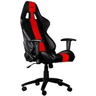 C-TECH PHOBOS fekete-piros - Gamer szék