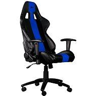 C-TECH PHOBOS fekete-kék - Gamer szék