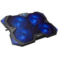 C-Tech Zephyros GCP-01B - Laptophűtő