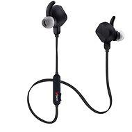 C-TECH SHS-05, grafitfekete - Mikrofonos fej-/fülhallgató