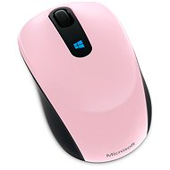 Microsoft Sculpt Mobile Mouse - rózsaszín - Egér