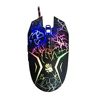 A4tech Bloody N50 Neon fekete Gamer egér - Egér