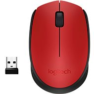 Logitech Wireless Mouse M171 piros