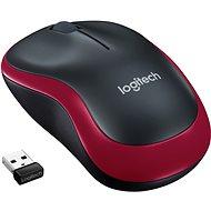 Logitech Wireless Mouse M185 piros - Egér