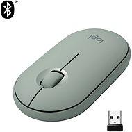 Logitech Pebble M350 Wireless Mouse, eukaliptusz