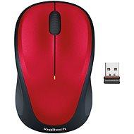 Logitech Wireless Mouse M235 piros - Egér