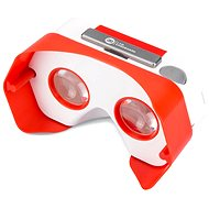 I AM CARDBOARD DSCVR piros - Virtuális valóság szemüveg