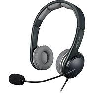 SPEED LINK Sonid fekete-szürke - Mikrofonos fej-/fülhallgató