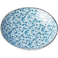 Made In Japan lapos tál Blue Daisy 21 cm 600 ml - Tál