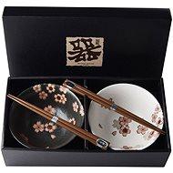 Made In Japan Set Cherry Blossom tálkészlet pálcikával 500 ml, 2 db - Tál készlet