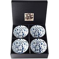 Made In Japan Maneki Cat 4 db-os tál készlet, 300 ml - Tál készlet