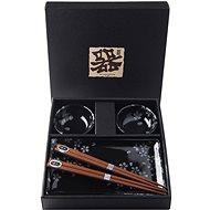 Made In Japan 6 db-os sushi szett, fekete - Sakura - Szett