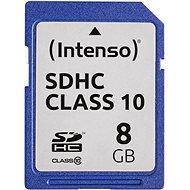 Intenso SD Card Class 10 8GB - Memóriakártya