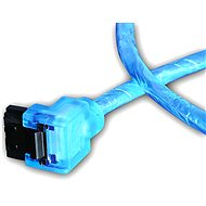 AKASA SATA blue UV 0,5 m - Adatkábel