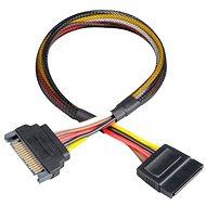AKASA SATA Power Cable Extension - Átalakító