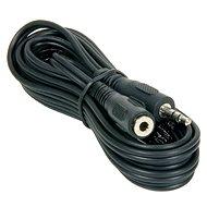 PremiumCord jack M 3,5 -> 3,5 jack F, 3m - Audiokábel