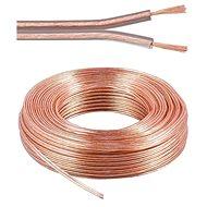 PremiumCord Hangszóró kábel, 2x0.75mm, 50m - Audio kábel