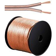 PremiumCord Hangszóró kábel, 2x0.75mm, 100m - Audio kábel