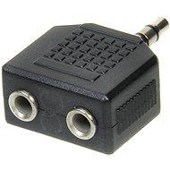 OEM audio 3,5 mm-es JACK -> 2x 3,5 mm-es JACK - Elosztó