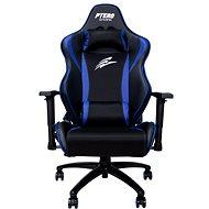 EVOLVEO Ptero ZX Cooled fekete/kék - Gamer szék