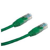 Datacom CAT6, UTP, 0,25 m zöld