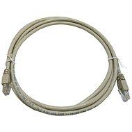 Hálózati kábel Adatátviteli kábel, CAT5E, UTP, 2 m, szürke - Síťový kabel