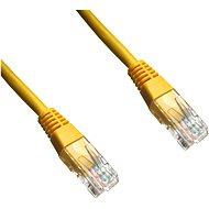 Adatátviteli, CAT6, UTP, 2m, sárga - Hálózati kábel