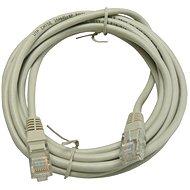 Hálózati kábel OEM, CAT5E, UTP, 3m, szürke - Síťový kabel